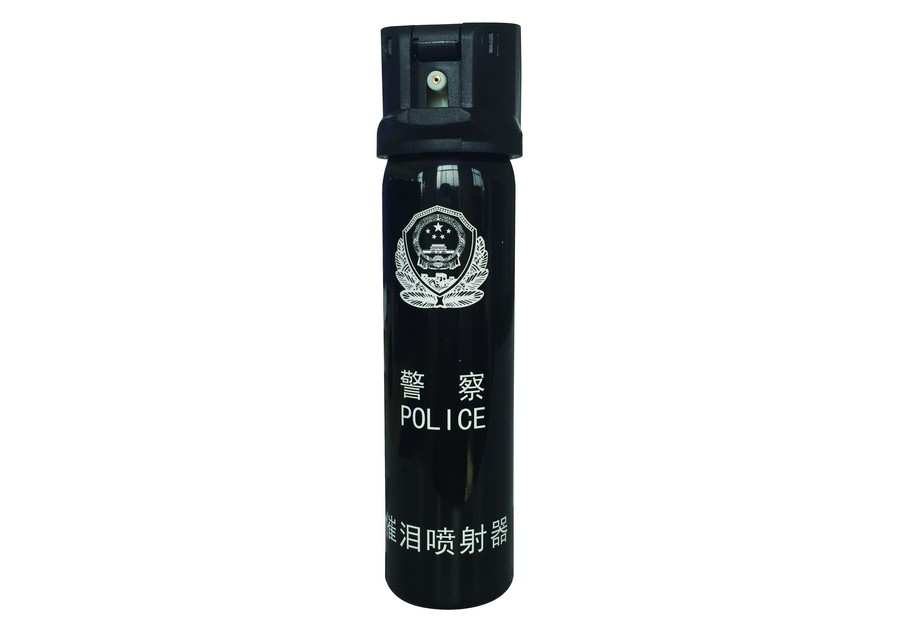 110ml Police Strength Pepper Spray Stream 1