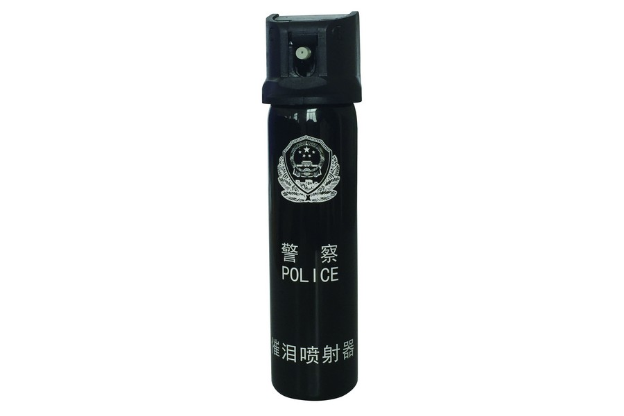 110ml Police Strength Pepper Spray Stream 2
