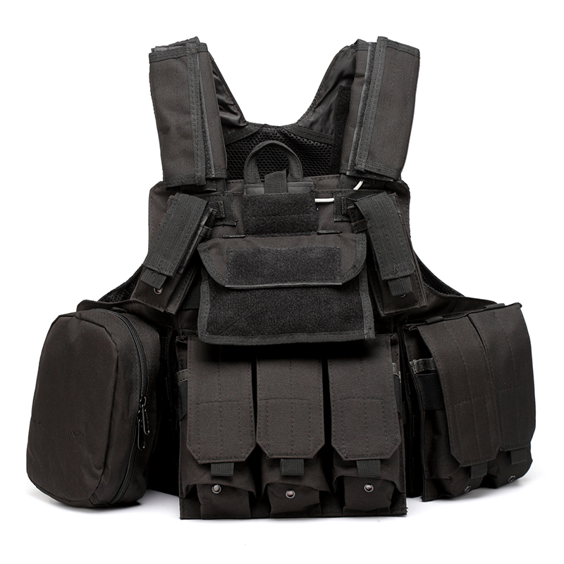 025 Tactical Vest Black 1