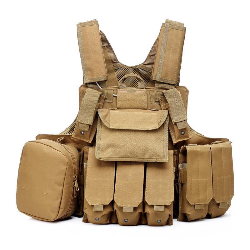 025 Tactical Vest Coyote Brown 1