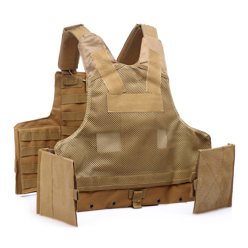 025 Tactical Vest Coyote Brown 2