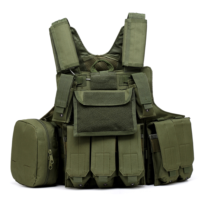 025 Tactical Vest Olive Green 1
