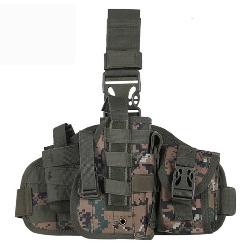073 Pistol Leg Holster Digital Woodland Camo 1