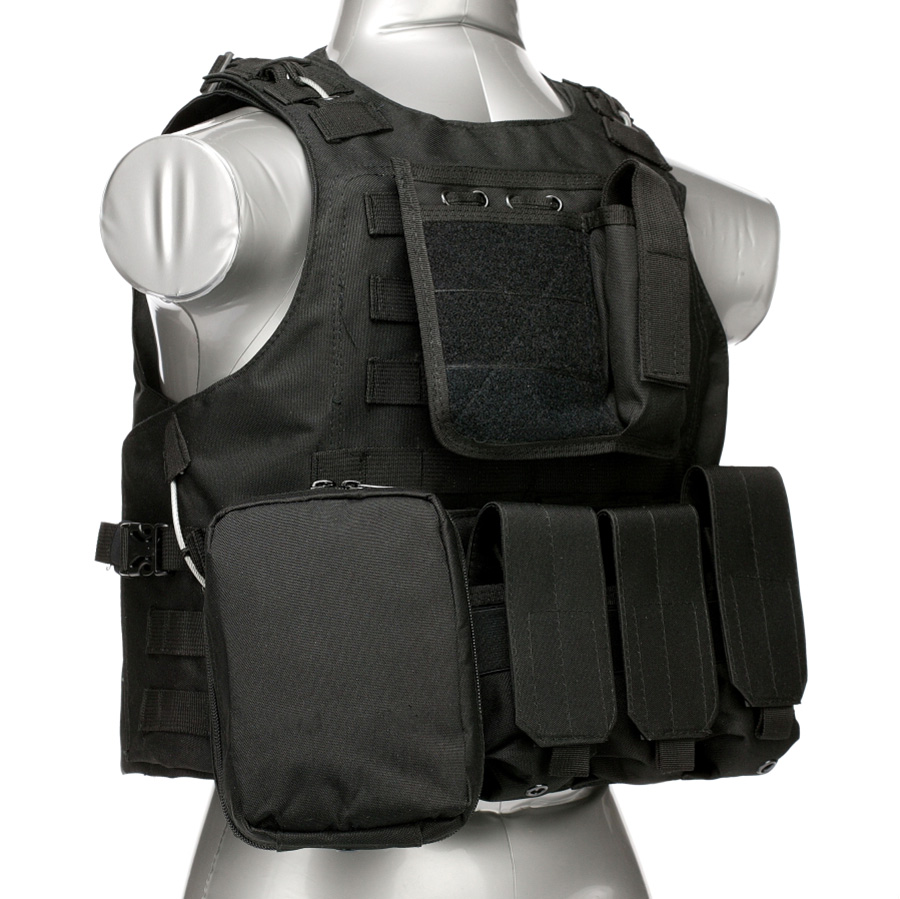 020 Tactical Vest Black 1