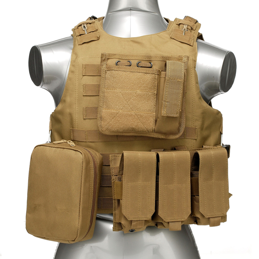 020 Tactical Vest Coyote Brown 1
