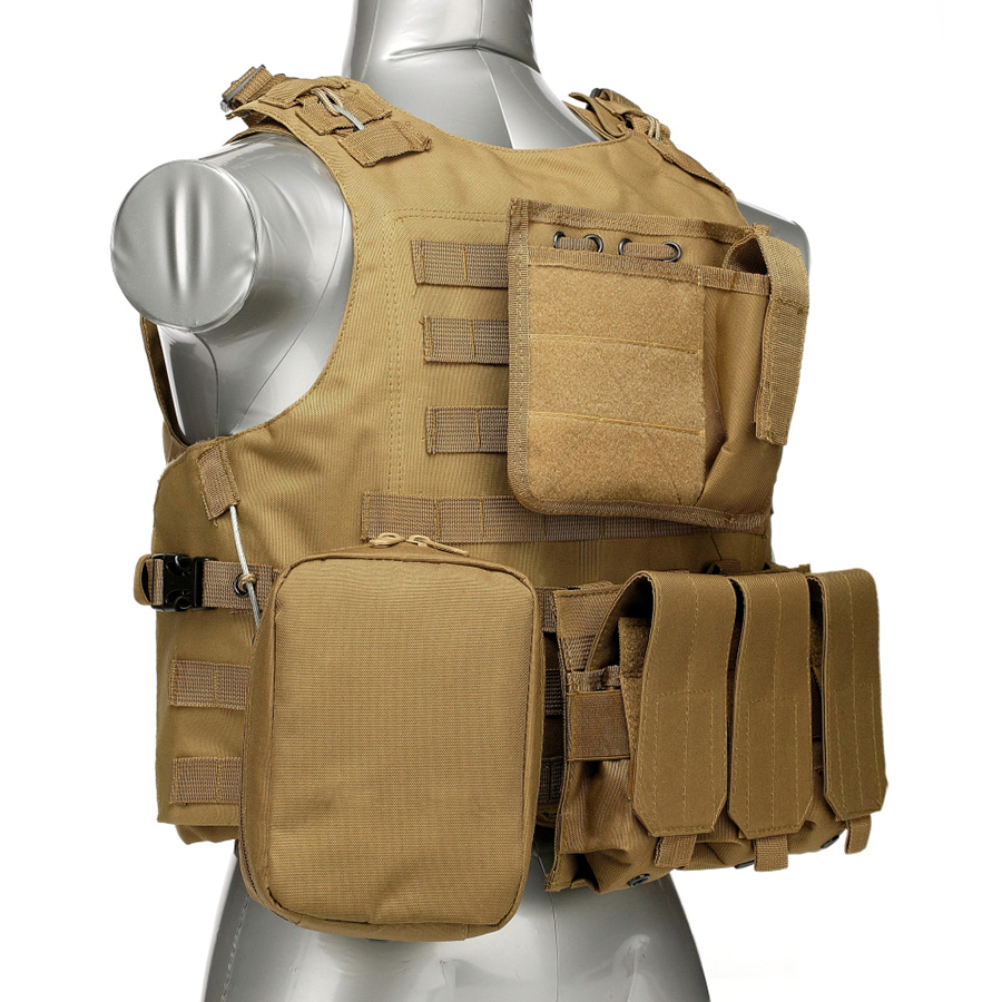 020 Tactical Vest Coyote Brown 2