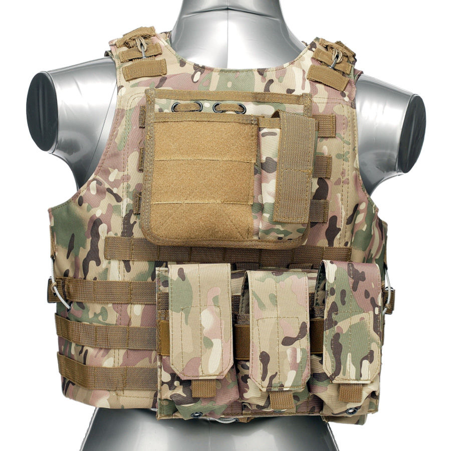 020 Tactical Vest MultiCam 1
