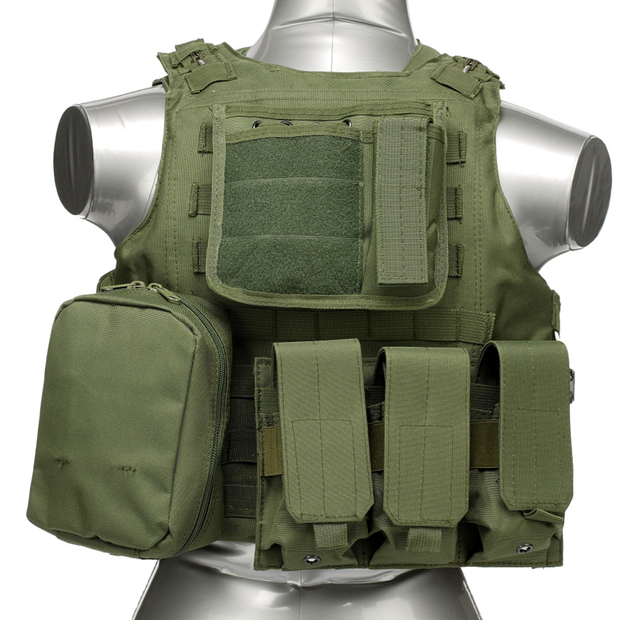 020 Tactical Vest Olive Green 1