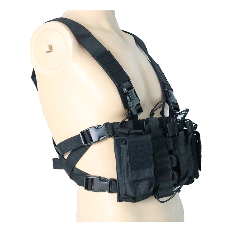 060 tactical chest rig black 2