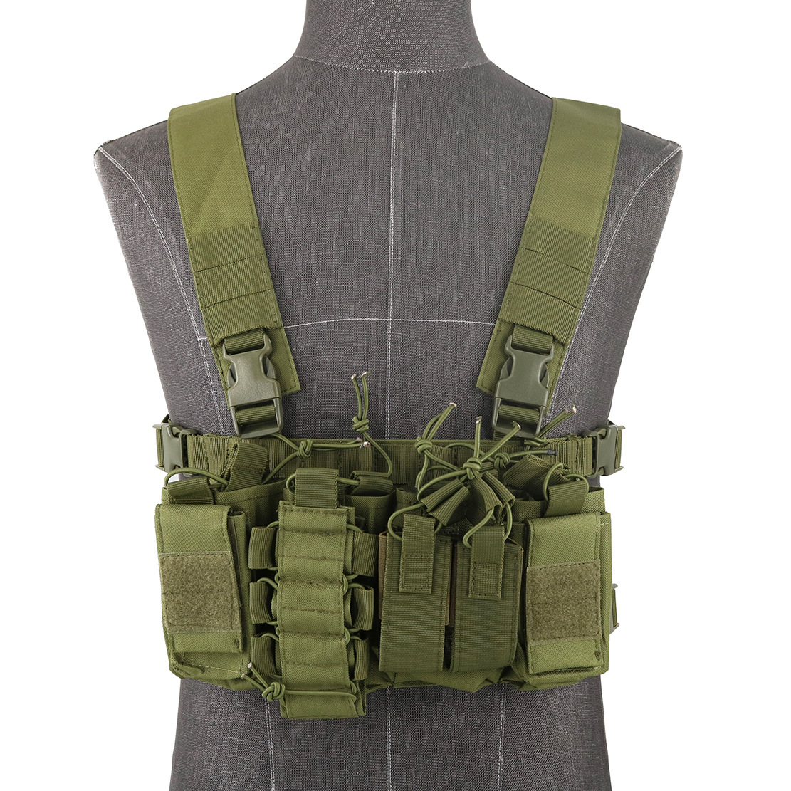 060 tactical chest rig olive green 1