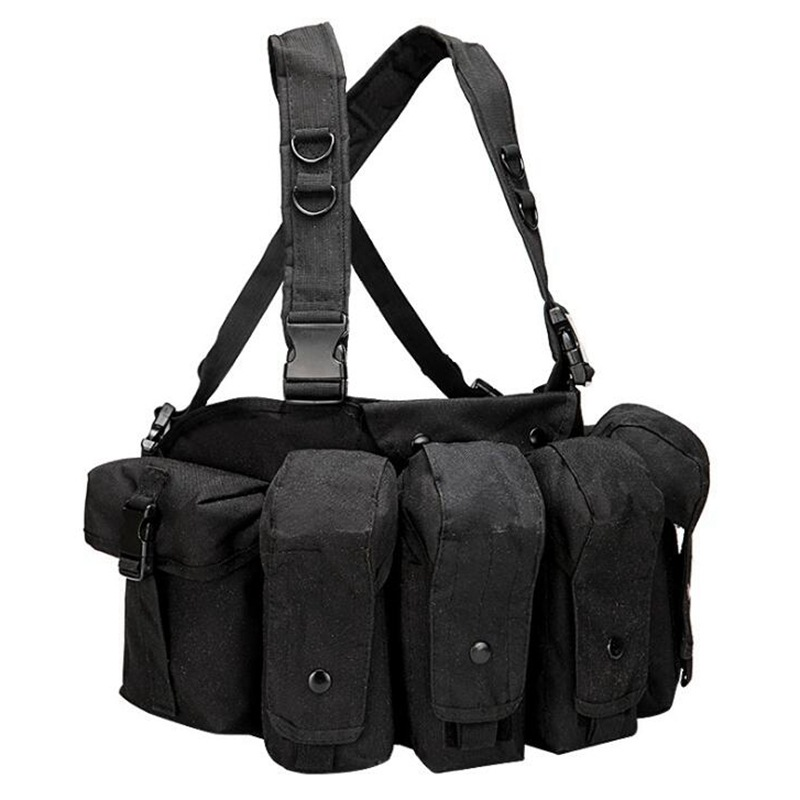 vt 1077 tactical chest rig black 1
