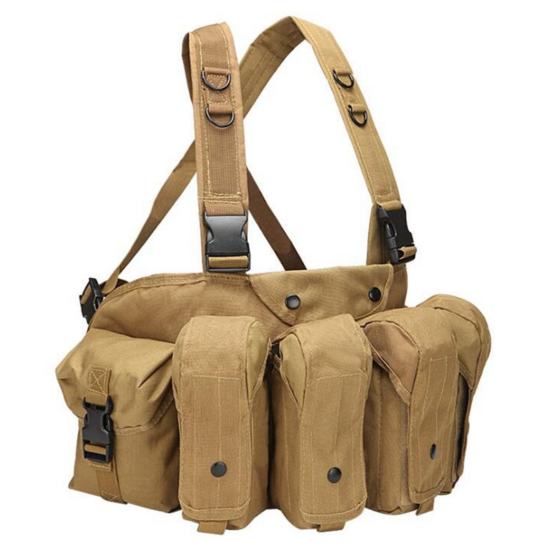vt 1077 tactical chest rig coyote brown 1