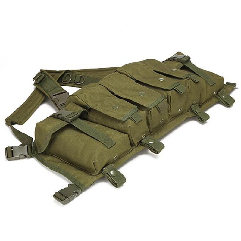 vt 1077 tactical chest rig olive green 2