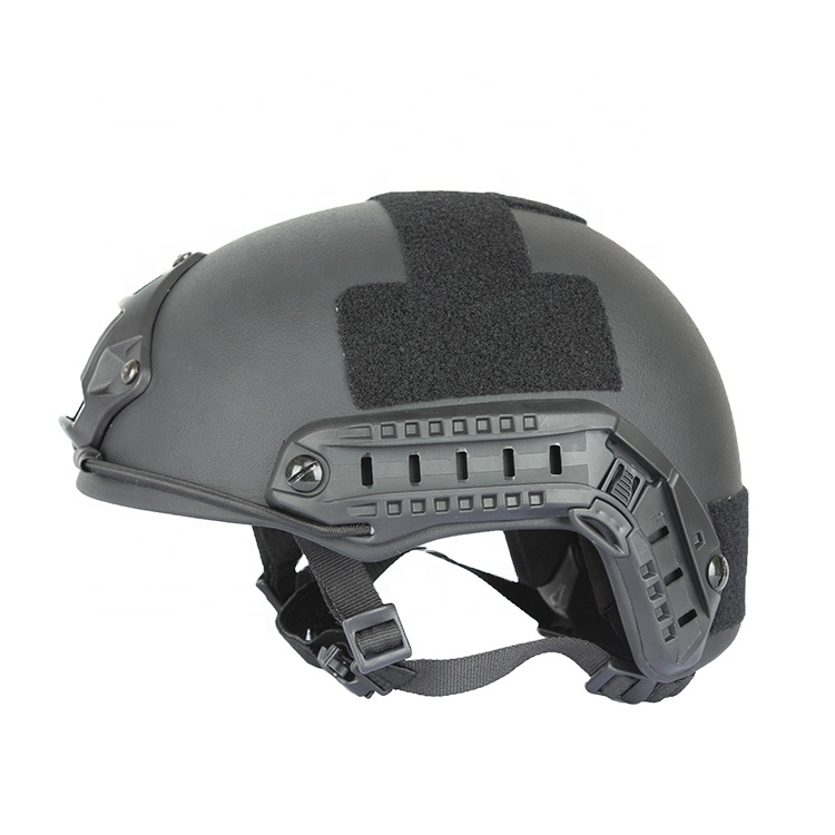 FAST Ballistic Helmet Gray 2