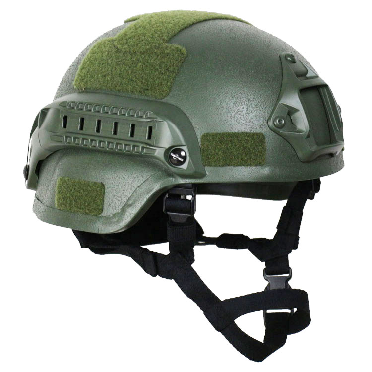 MICH2000 Ballistic Helmet Olive Green 1