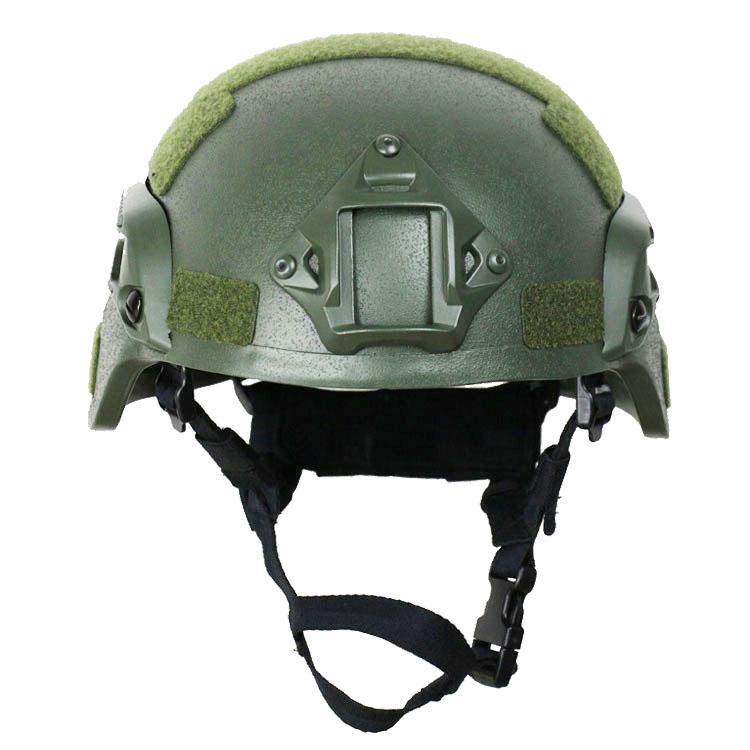MICH2000 Ballistic Helmet Olive Green 2