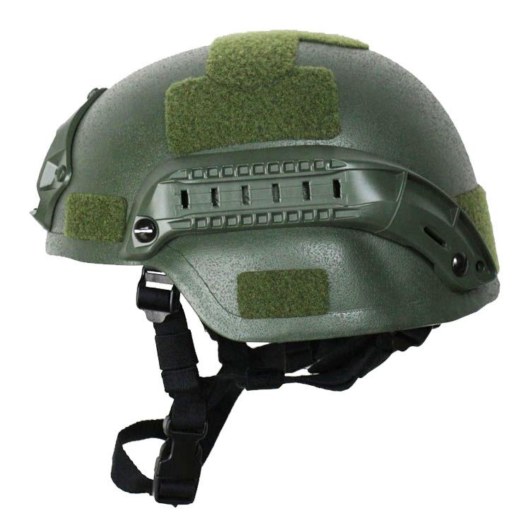 MICH2000 Ballistic Helmet Olive Green 3