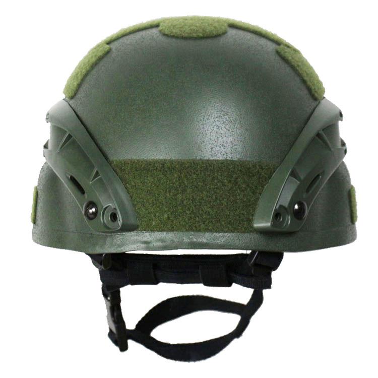 MICH2000 Ballistic Helmet Olive Green 4