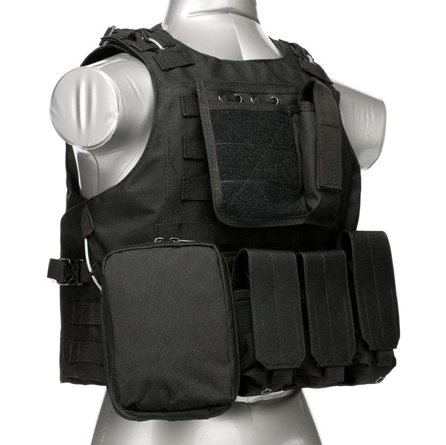 020 Tactical Vest Black 1