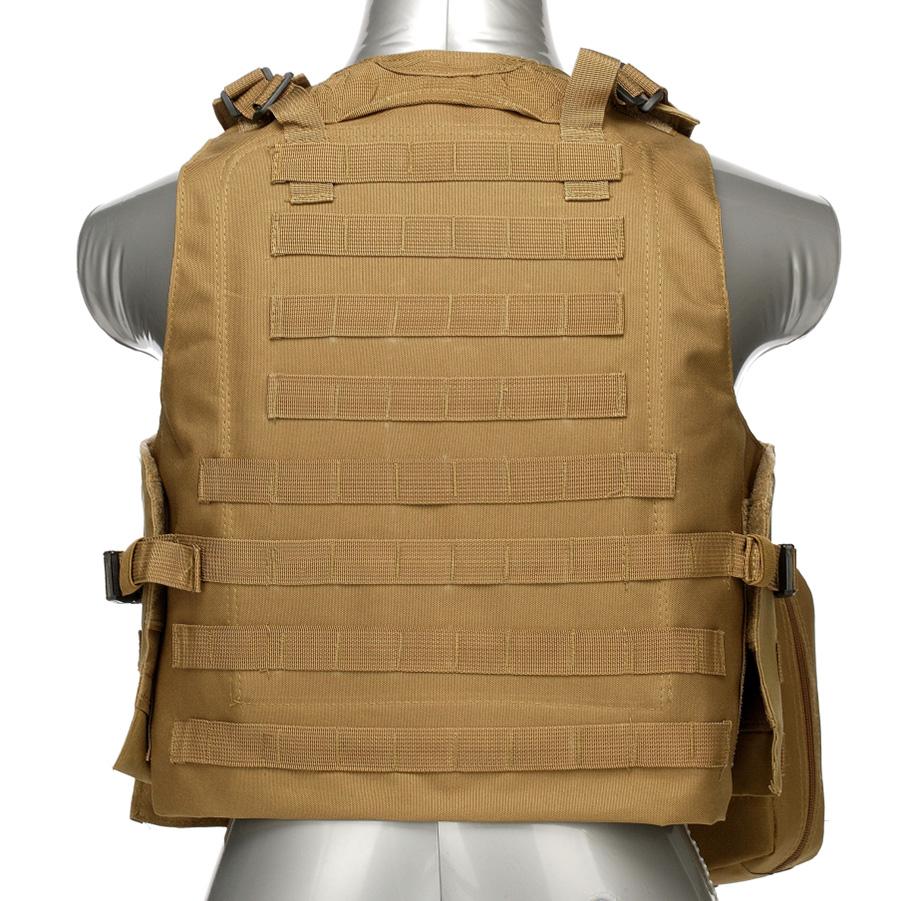 020 Tactical Vest Coyote Brown 3