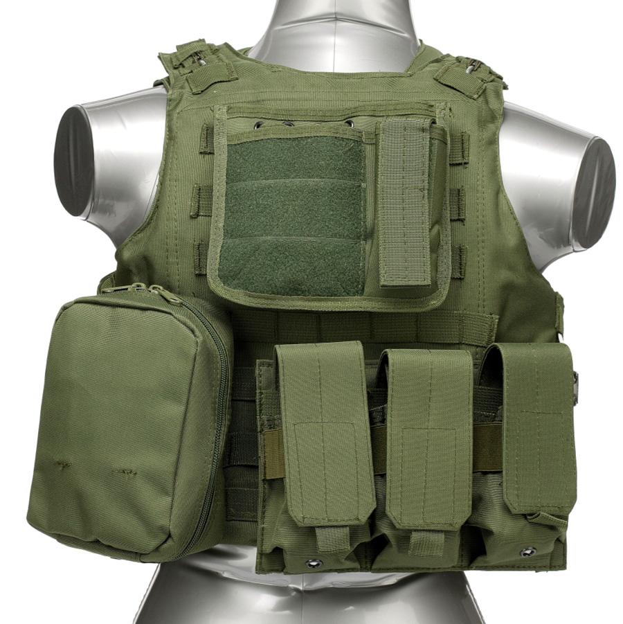 020 Tactical Vest Olive Green 1