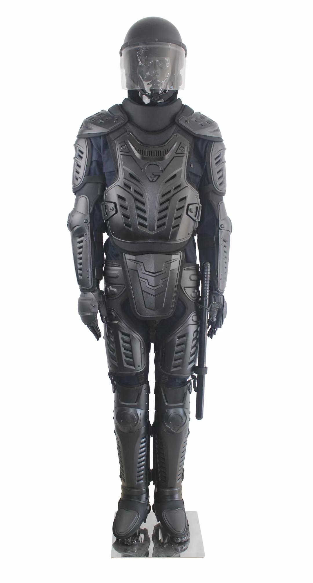 FBF 10 Riot Control Suit Black 1