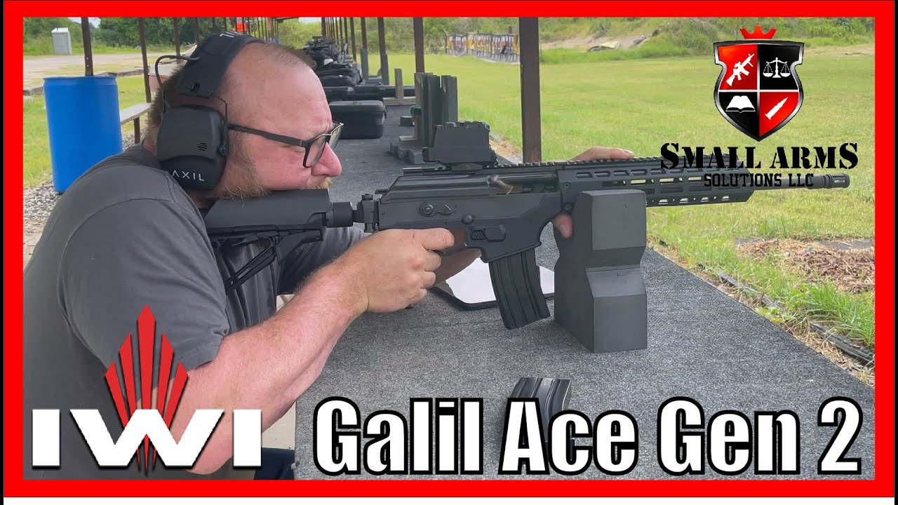 IWI Galil Ace Gen 2 Updated for the American Shooter