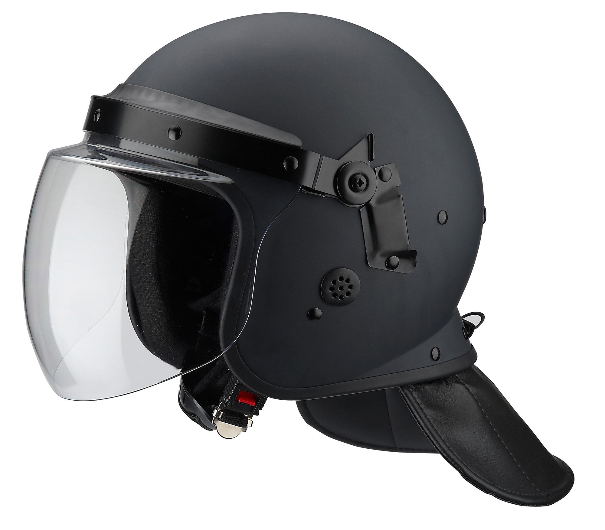 FBK 01 Riot Control Helmet Black 1