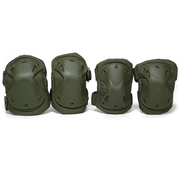 HZX01 Tactical Elbow Knee Pads Olive Green 1