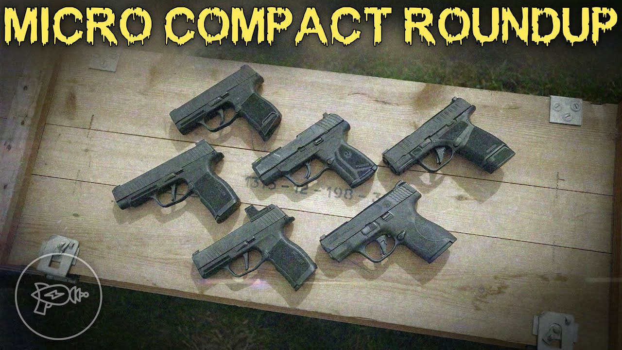 Micro Compact Roundup MP Shield Plus Ruger Max 9 Springfield Hellcat Sig P365 X XL Review