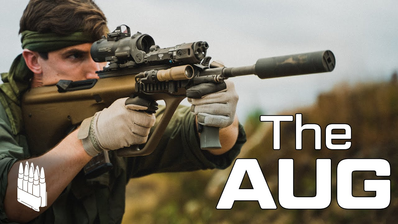 The AUG AUSTRIAN SERVICE RIFLE the best bullpup ever made